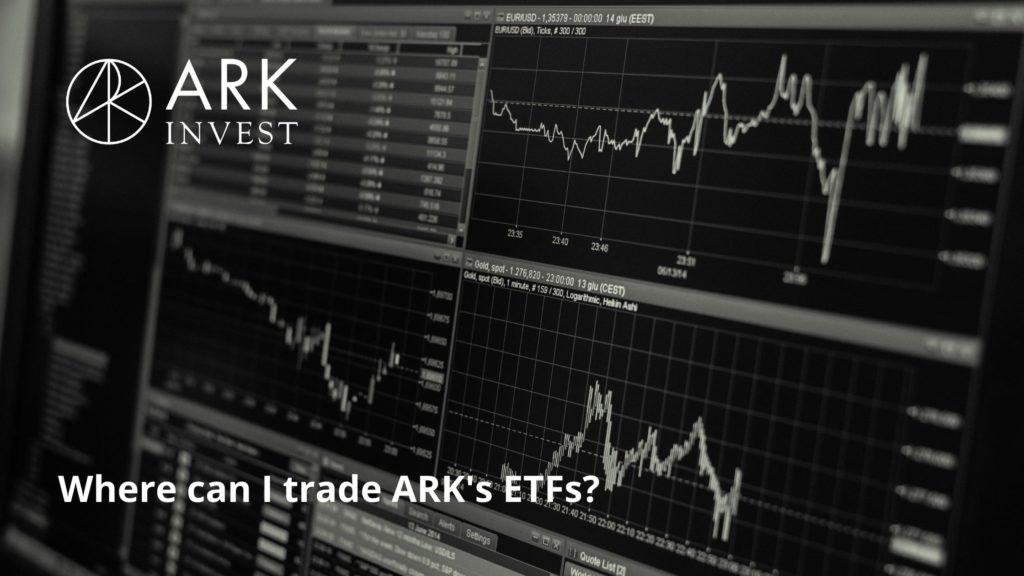 ARK社のETFが買える証券会社一覧