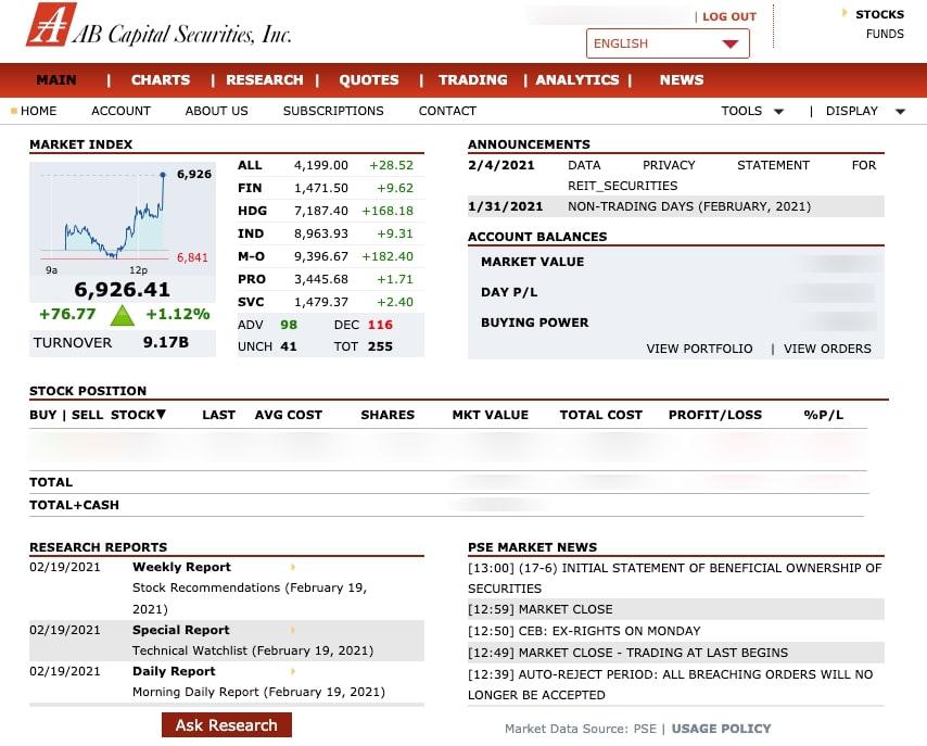 AB証券プラットフォーム