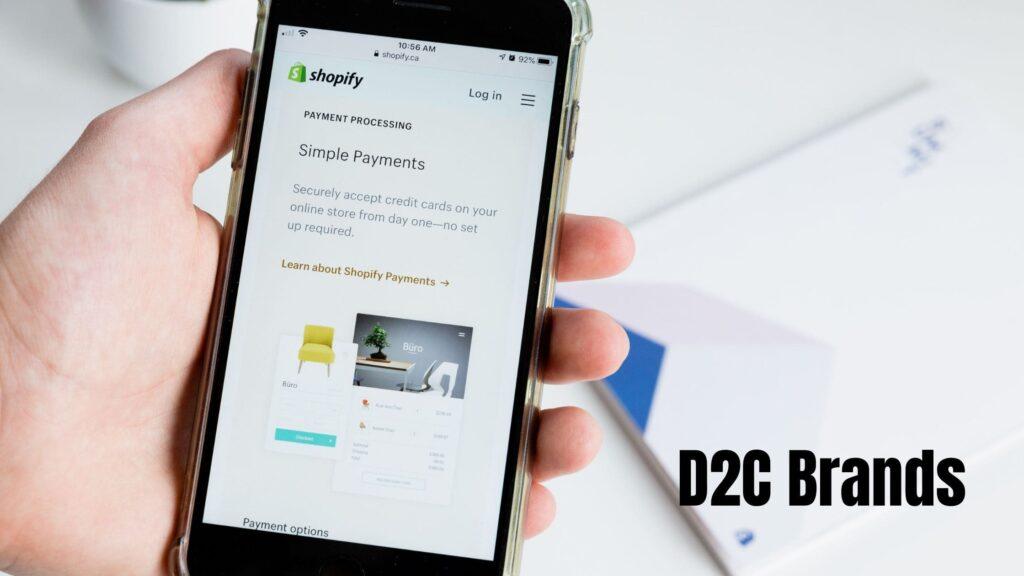 D2Cの代表的ブランド