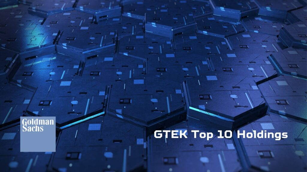 GTEKのトップ10組入銘柄
