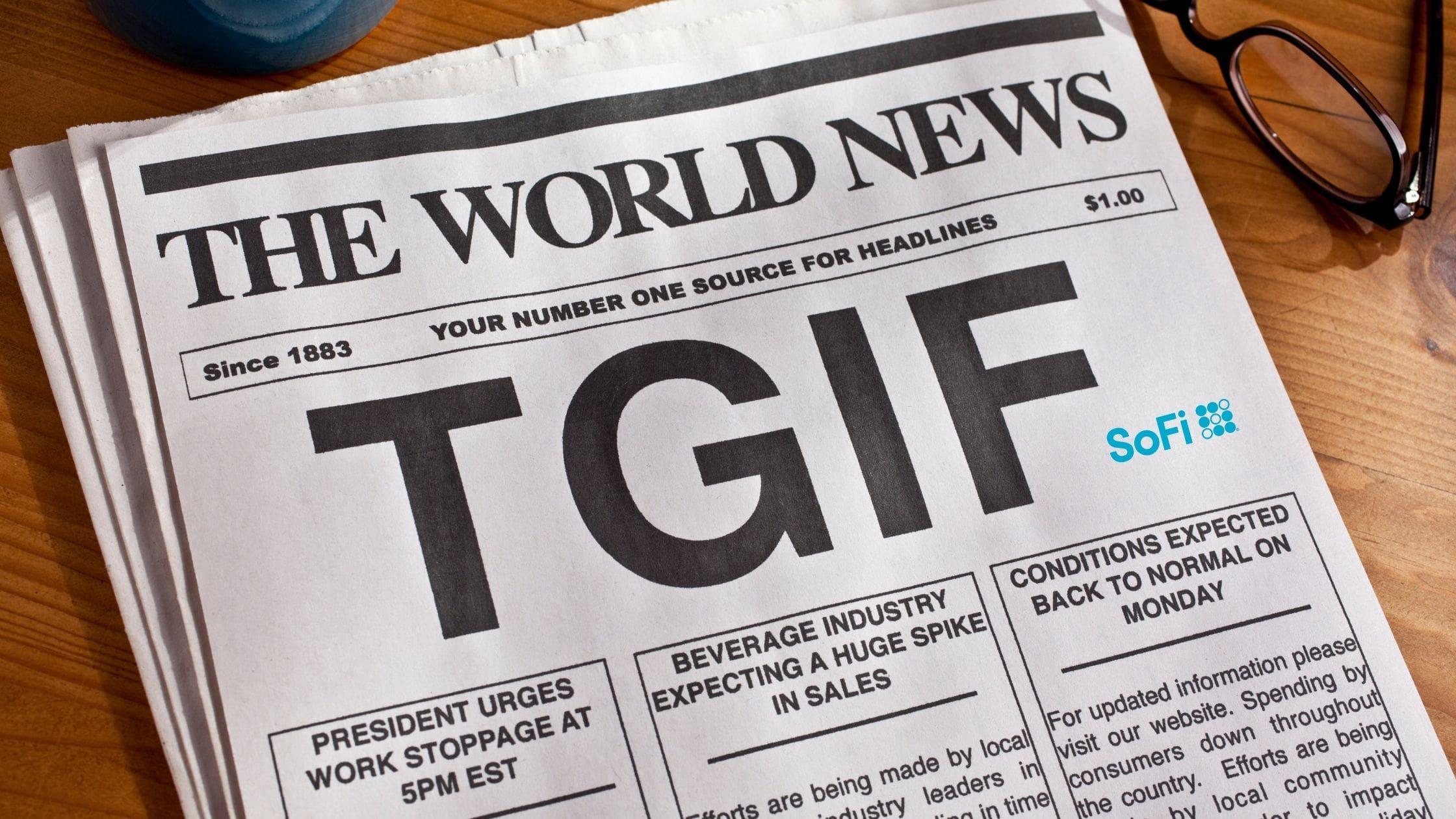 【週末配当!】毎週配当がもらえるSoFiのTGIFってどんなETF?